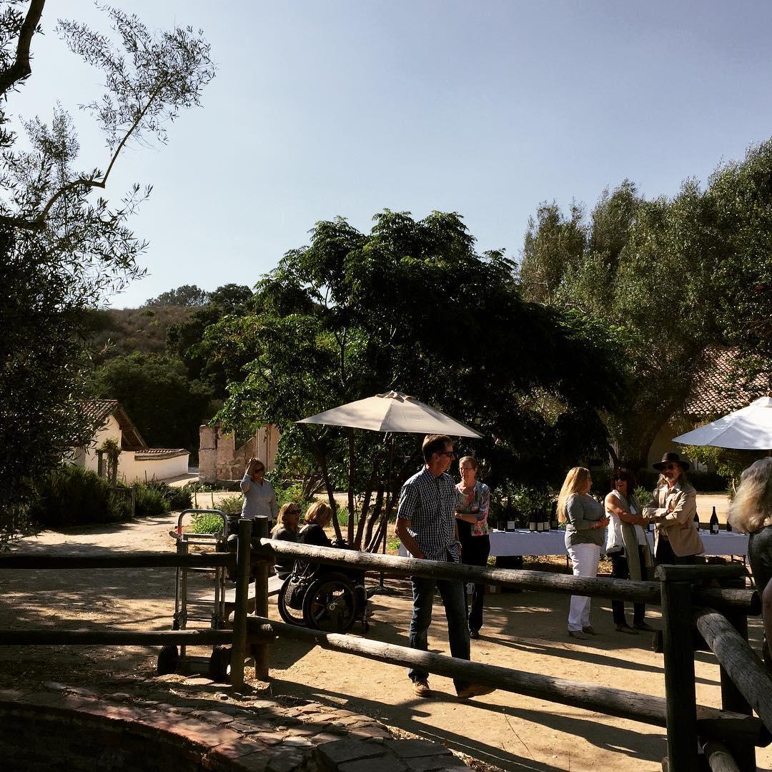 Wine amp Fire  Lompoc La Purisma Mission! lompoc santaritahillshellip
