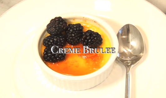Lightened Up Creme Brulee