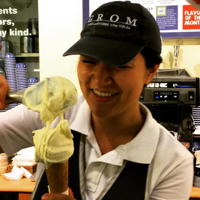 Grom Gelato NYC! Some of the best! livelovelaughfood gelato gromhellip