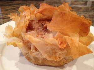 Sour Cream Apple Pie in Phyllo Image 2