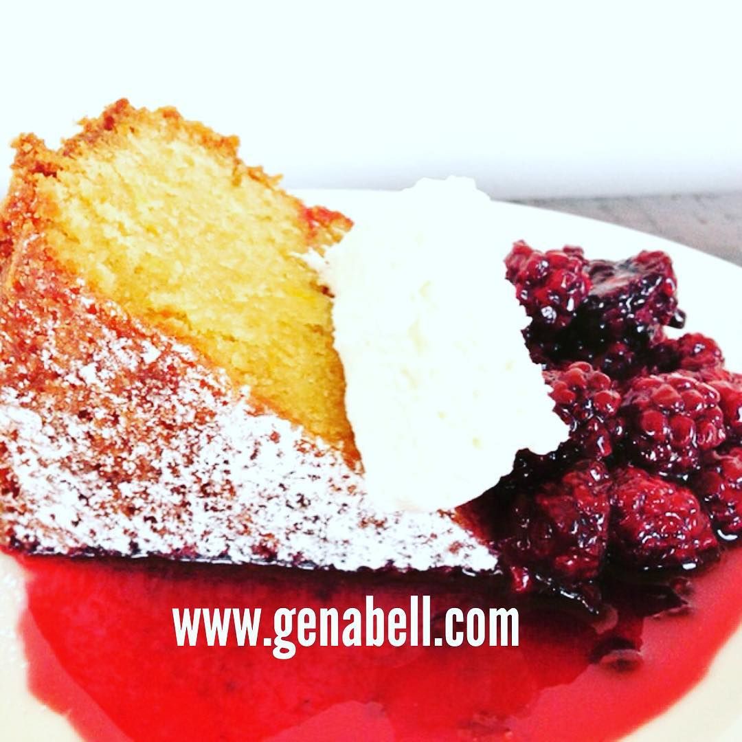 Olive Oil Cake with Blackberry Compote! No Better Day tohellip
