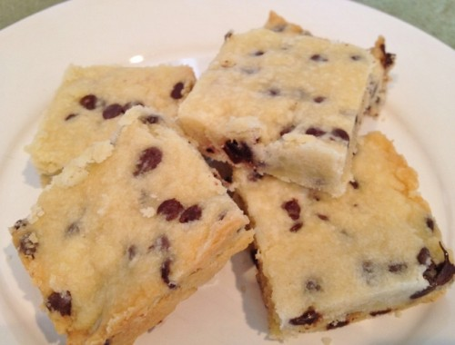 Chocolate Chip Shortbread – Recipe!