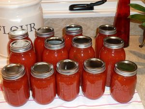 Canning Summer Tomatoes Image 11