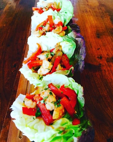 I just love these Thai Shrimp Lettuce Cups  Juicyhellip