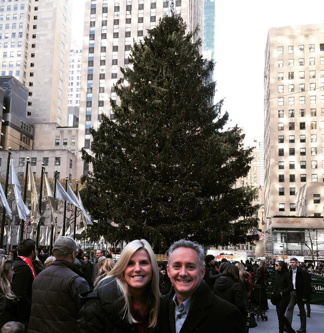 NYC Christmas Tree by Day! Love this place! NYC ChristmasTreehellip