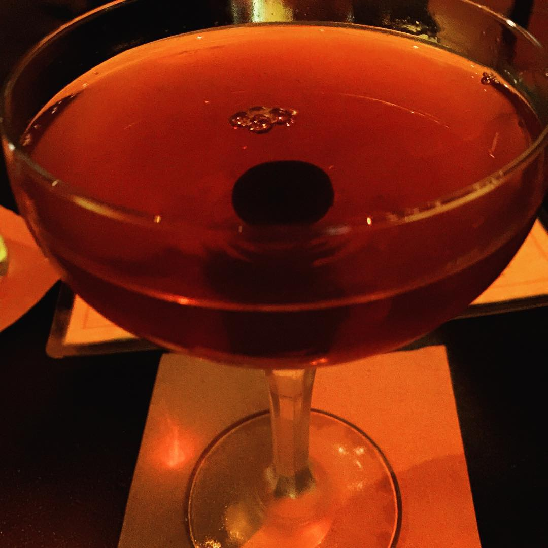 Warming up for Manhattan with a Manhattan  Copa dOrohellip