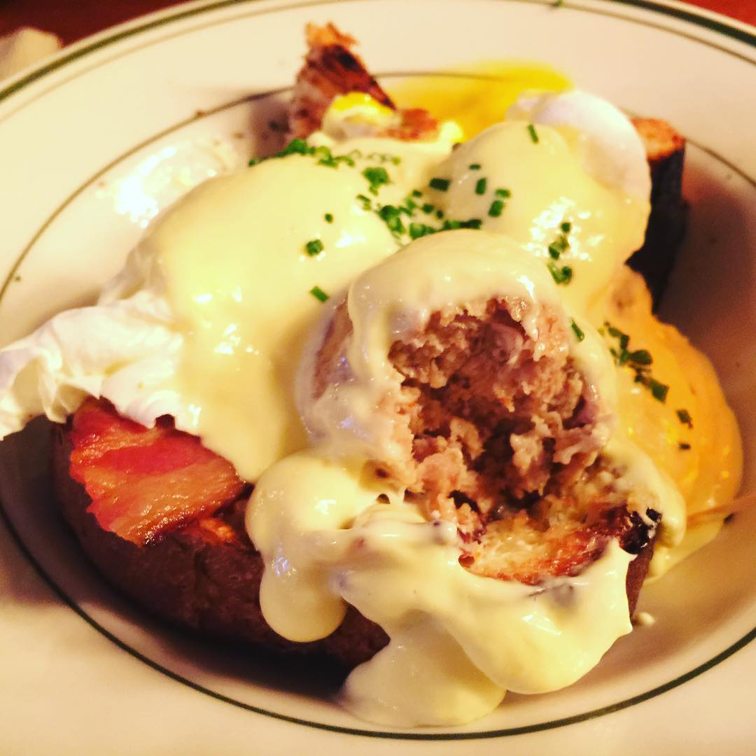 Meatball Benedict at The Meatball Shop NYC! Love those balls!hellip