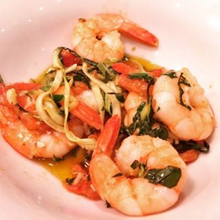 Garlic Shrimp amp Linguine Zoodles Recipe! Easy and Healthy Weeknighthellip