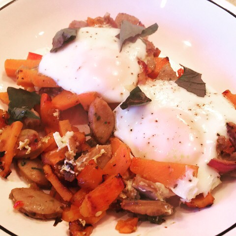 Easy Sweet amp Spicy Hash and Eggs Recipe! wwwgenabellcom Makeshellip