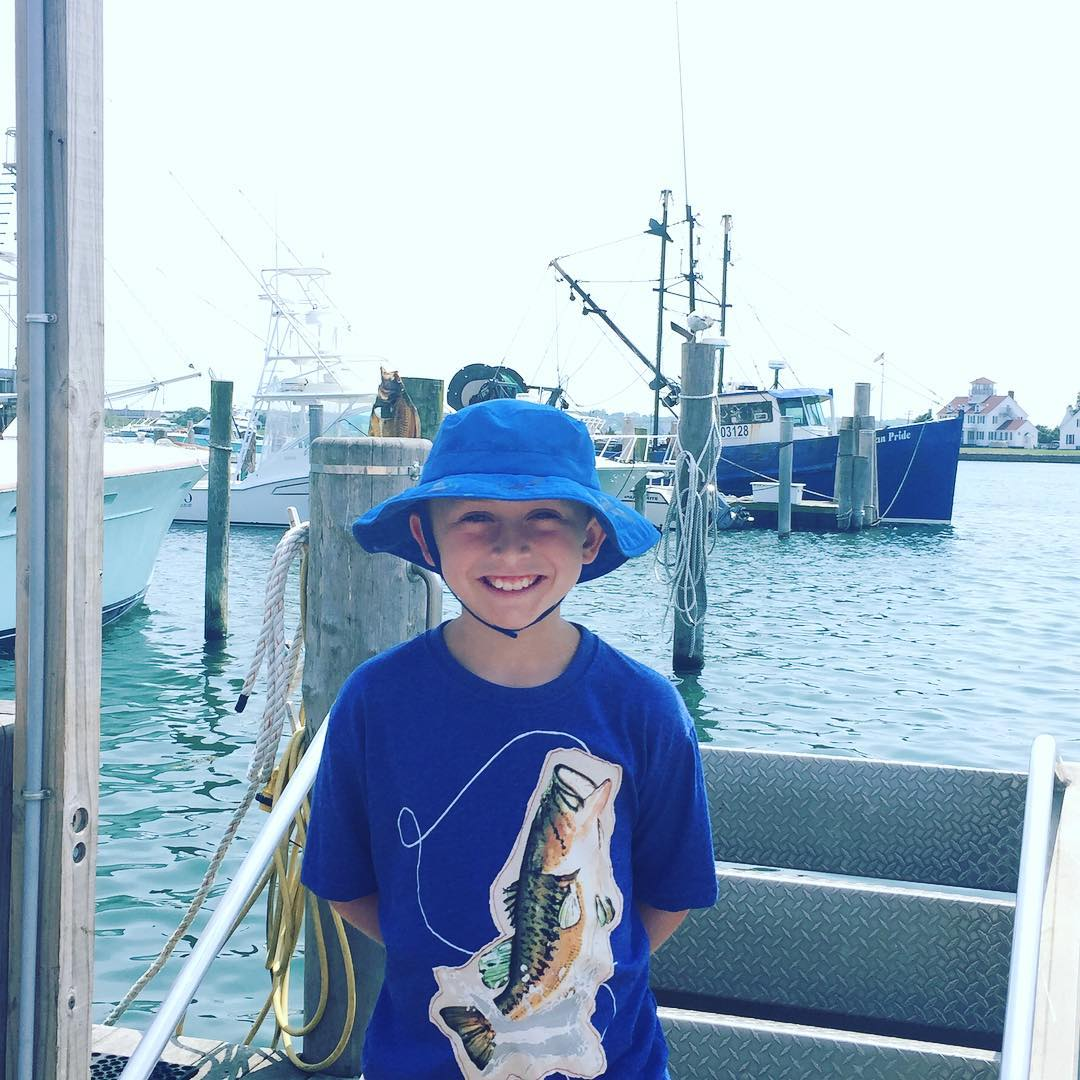 Gone Fishin! Montauk NY Lazy Bones Day Fishing!! summer vacationhellip