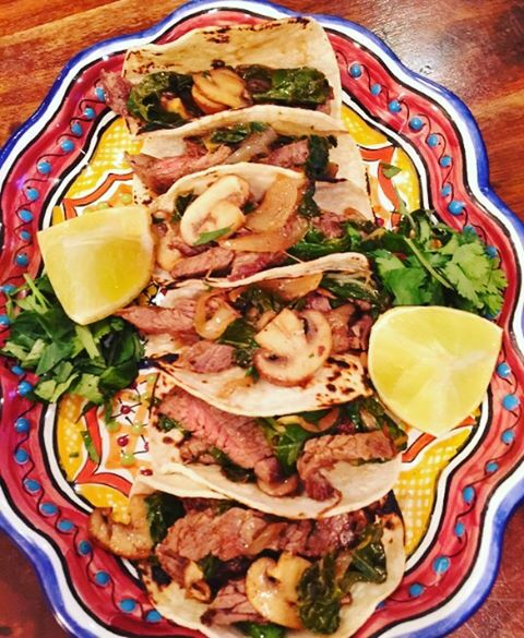 Tacos Anyone? One of my favorite foods!! Carne Asada Mushroomhellip