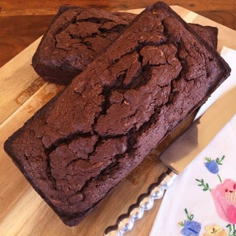 Heres one for the Chocolate Lovers  Double Chocolate Zucchinihellip