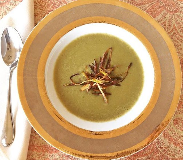 Asparagus Season has arrived! Try this Asparagus amp Leek Souphellip