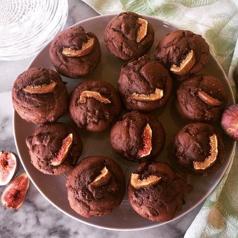 Dark Chocolate Fig Muffins are always a nice start tohellip