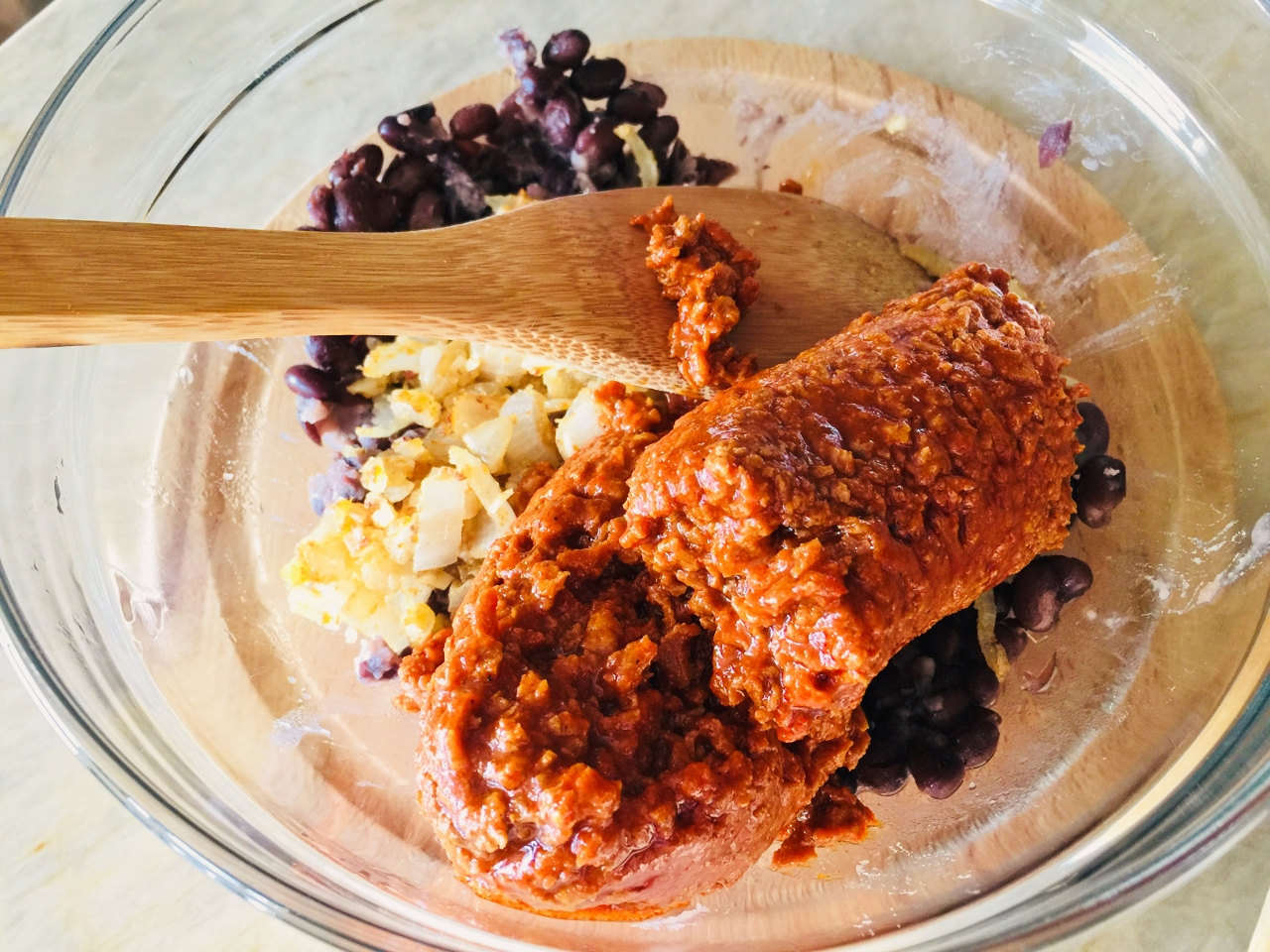 Cheesy Black Bean Chorizo Dip – Recipe! Image 4