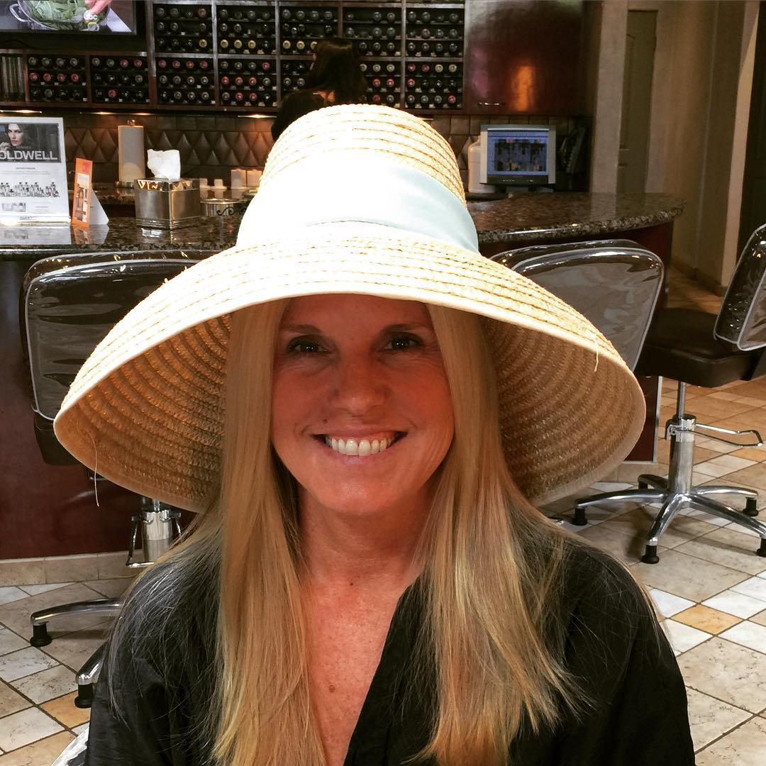 Hamptons Hair and Hat Ready! Thanks James davidsalon loveit hamptonshellip