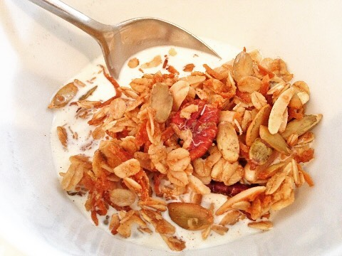 Great Fall Flavors in this Homemade Granola Recipe! Posted athellip