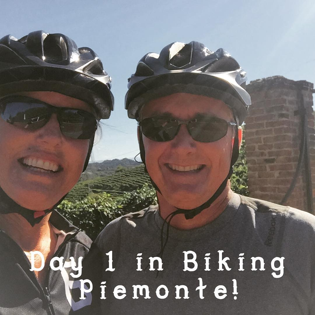 We Made it! Beautiful here in Asti! biking Italy vacationhellip