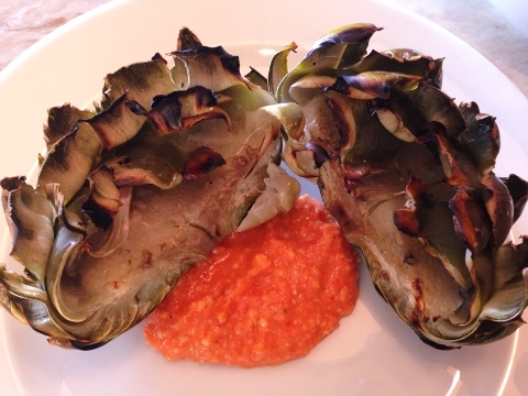 Grilled Artichokes with Romesco Sauce – Recipe! Image 2