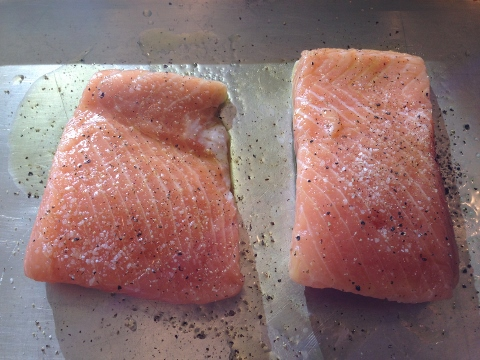 King Salmon & Zucchini Pasta with Anchovy Brown Butter Sauce 2014-07-21 007 (480x360)