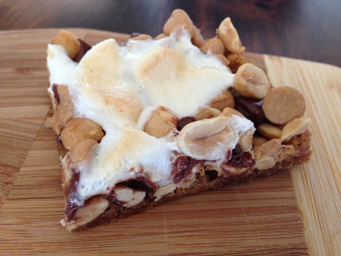 Peanut Butter S'more Bars – Recipe!