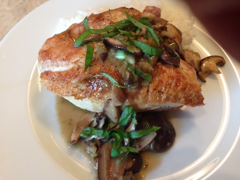 Seared Chicken with Mushroom Pan Sauce 2014-09-05 062 (480x360)
