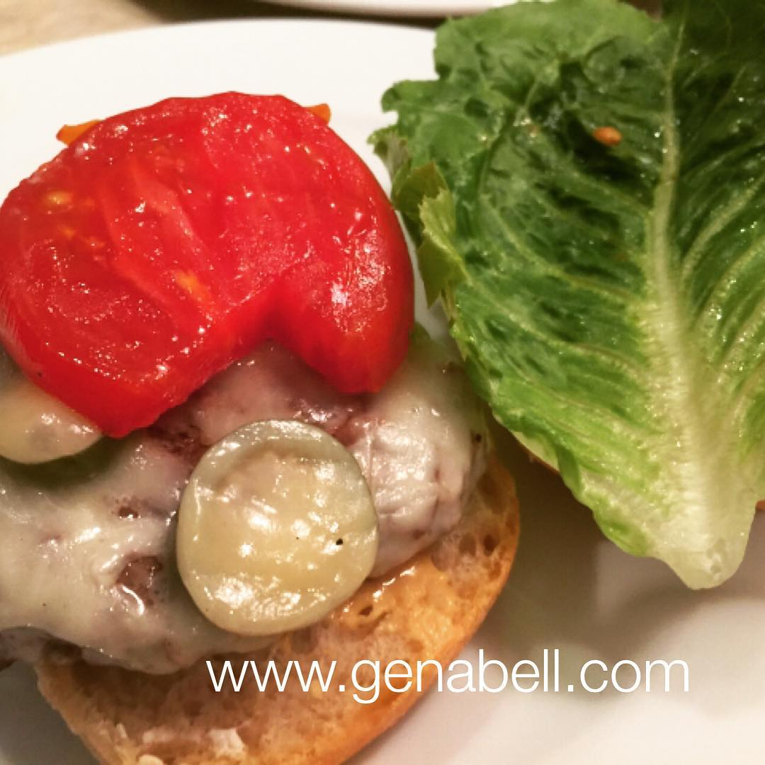 Pickled Jalapeo Burger  Recipe! Some Like it Hot!! wwwgenabellcomhellip
