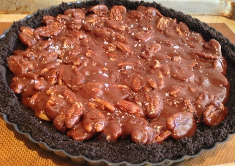 Chocolate-Caramel Pecan Tart – Recipe! Image 2