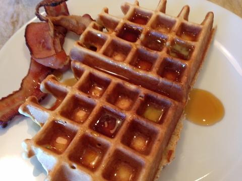 Maple Oatmeal Waffles 100 (480x360)