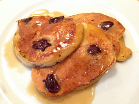 Pumpkin Chocolate Chip Pancakes – Recipe!