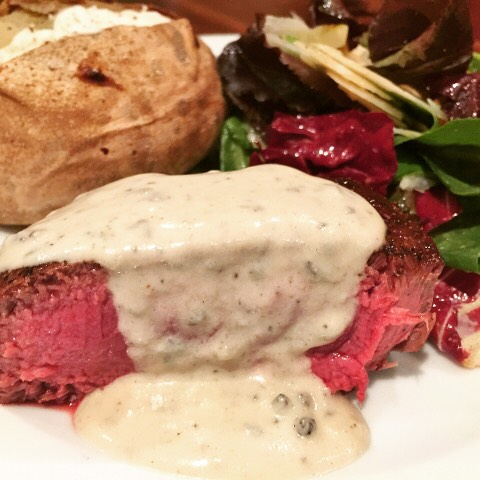Seared Filets of Beef with Gorgonzola Cream Recipe gtgt wwwgenabellcomhellip