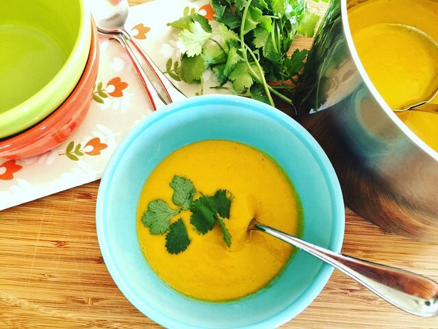 Carrot Coconut Curry Soup!! Simply Delicious! Recipe at wwwgenabellcom livelovelaughfoodhellip