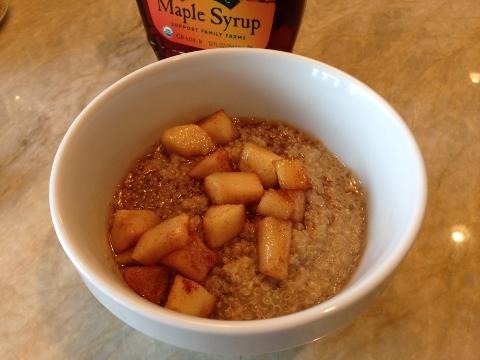 Quinoa Porridge with Saute Cinnamon Apples 049 (480x360)