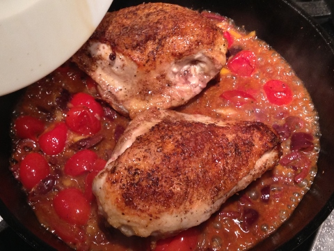 Morroccan Chicken with Preserved Lemons, Olives & Tomatoes 094 (480x360)