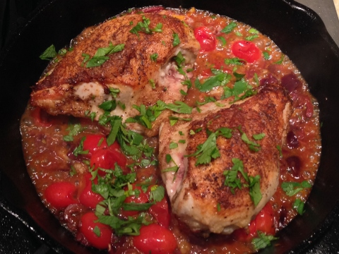 Morroccan Chicken with Preserved Lemons, Olives & Tomatoes 112 (480x360)