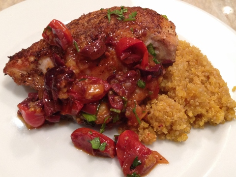 Moroccan Chicken with Preserved Lemon, Olives & Tomatoes – Recipe! Image 1