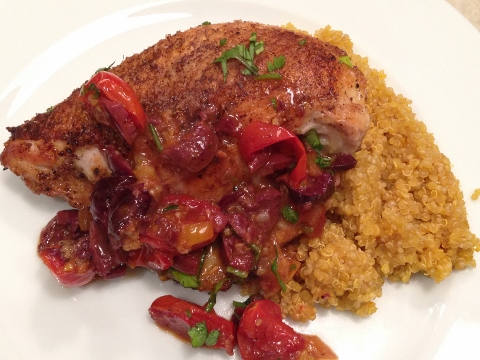 Morroccan Chicken with Preserved Lemons, Olives & Tomatoes 123 (480x360)