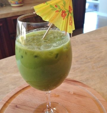 My Little Green Smoothie – Recipe!