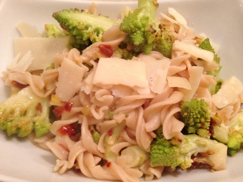 Romanesco, Lemon & Sun-dried Tomato Pasta – Recipe!