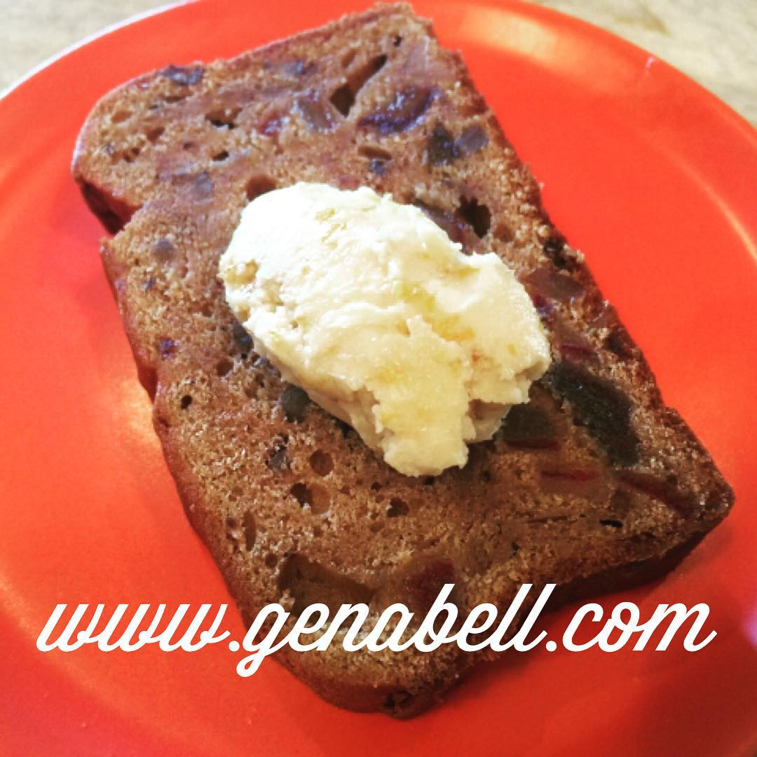 Date Nut Bread with Orange Maple Butter  Recipe! Naturallyhellip