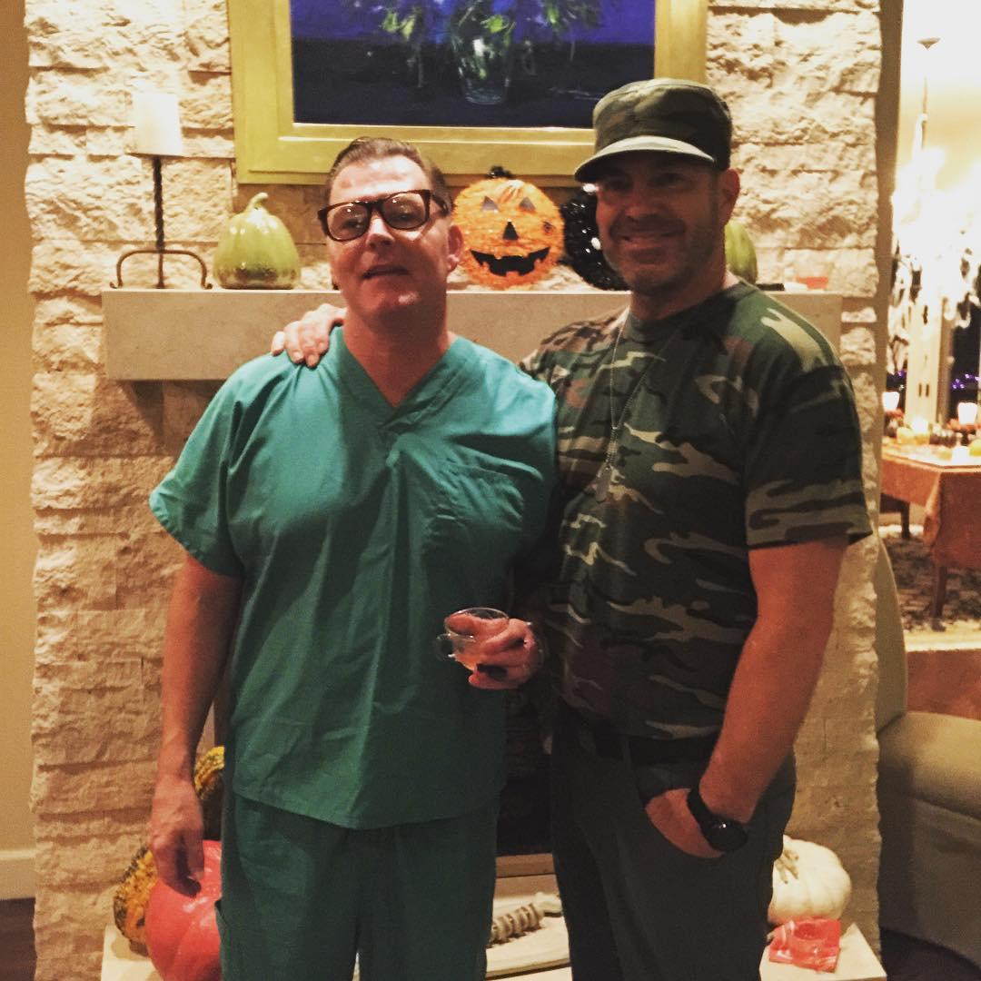 Dr Kevorkian amp Sergeant Hottie!!  More Fun Halloween Pics!hellip