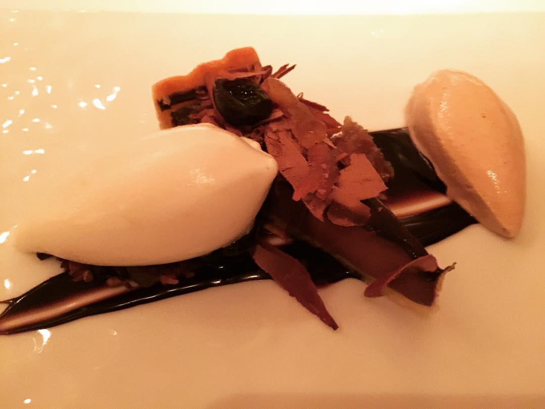 Reminiscing about this Triple Chocolate Dessert at Gramercy Tavern inhellip