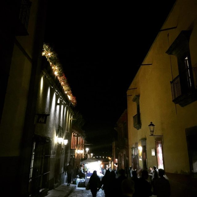 Gorgeous night in San Miguel! livelovelaughfood Mexico sanmigueldeallende travel tequilahellip