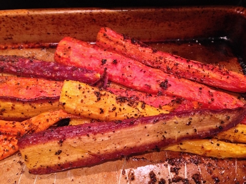 Three-Seed Roasted Rainbow Carrots – Recipe! Image 1