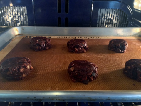 Flourless Chocolate Peanut Butter Toffee Cookies 071 (480x360)