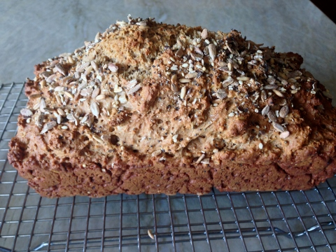Multi-Seeded Brown Soda Bread Recipe! Happy St. Patty's Day!