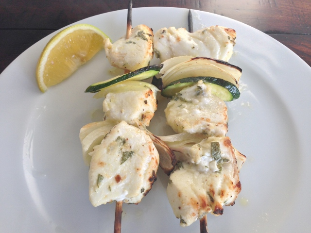 Easy Marinated Halibut Skewers – Recipe! Image 1