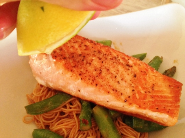 Thai Peanut Salmon & Noodles – Recipe! Image 3