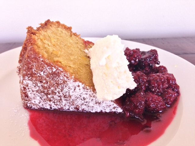Olive Oil Cake with Blackberry Compote – Recipe! Image 1