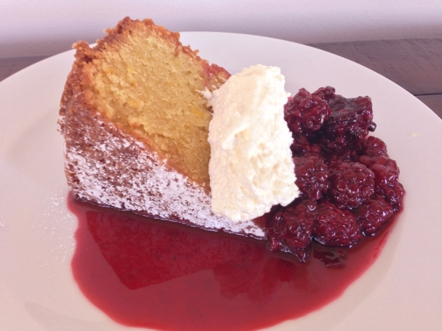 Olive Oil Cake with Blackberry Compote – Recipe! Image 6